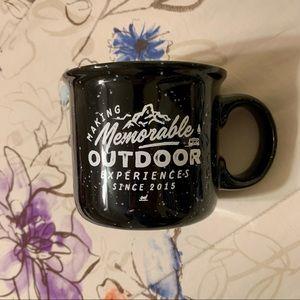 Black Outdoorsy Mug